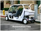 Electric Car Templates For Powerpoint