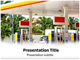Gas Station Powerpoint Template