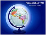 Terrestrial Globe Templates For Powerpoint