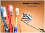 Toothbrush PowerPoint Slides