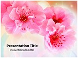 Pink In Nature Templates For Powerpoint