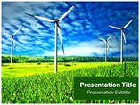 Wind Power Farm Templates For Powerpoint