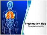 Respiratory System Templates For Powerpoint, Respiratory System PowerPoint Slide Templates