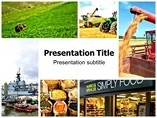 Agriculture Supply Chain Management PowerPoint Backgrounds