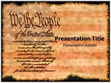 United States Constitution Templates For Powerpoint