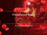 Blood Cells Pictures Powerpoint Template