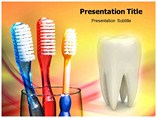 Soft Toothbrush  Templates For Powerpoint
