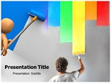 Wall Painting Templates For Powerpoint