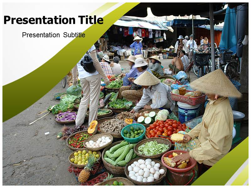 Rural Market Templates For Powerpoint