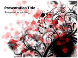 Heart Abstract Templates For Powerpoint