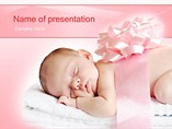 Sleeping Innocence Templates For Powerpoint