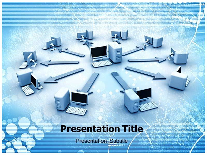 Self Defending Network Templates For Powerpoint