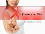 Cancer And Hiv Templates For Powerpoint