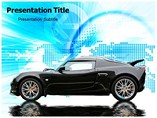 Black Reflection Templates For Powerpoint