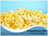 Popcorn Powerpoint Template slides