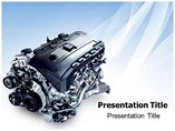 Valvetronic Engine Powerpoint Template