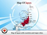 Map of Japan Templates For Powerpoint