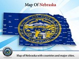 Map of Nebraska Templates For Powerpoint
