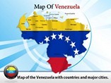 Map of Venezuela Templates For Powerpoint