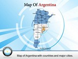 Argentina Powerpoint Map Templates