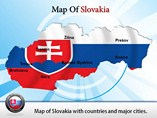 Slovakia Map Templates For Powerpoint