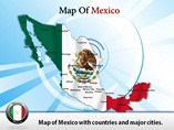 Interactive Map of Mexico Templates For Powerpoint