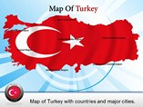 Map of Turkey Templates For Powerpoint