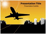Airplane Take Off Templates For Powerpoint