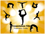 Yoga DVD Recommendations Templates For Powerpoint