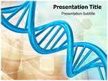 DNA Test PowerPoint Template
