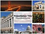 USA Tourism Powerpoint Templates