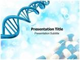 Genetics Medicine Powerpoint Templates