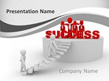 Reaching Success Templates For Powerpoint