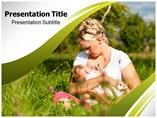 Breast Feeding Powerpoint Templates