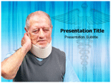 Cervical Neck Pain Templates For Powerpoint