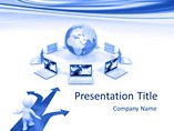 Cloud Computing PowerPoint Layouts
