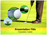 Golf Club  PowerPoint Template