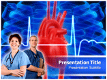 Cardiac Intensive Care Templates For Powerpoint