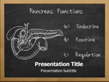 Function Of Pancreas Templates For Powerpoint