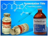 Penicillin Drug Templates For Powerpoint