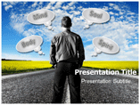 Personality Development Tips  PowerPoint Template