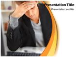 Stress Symptoms  PowerPoint Template
