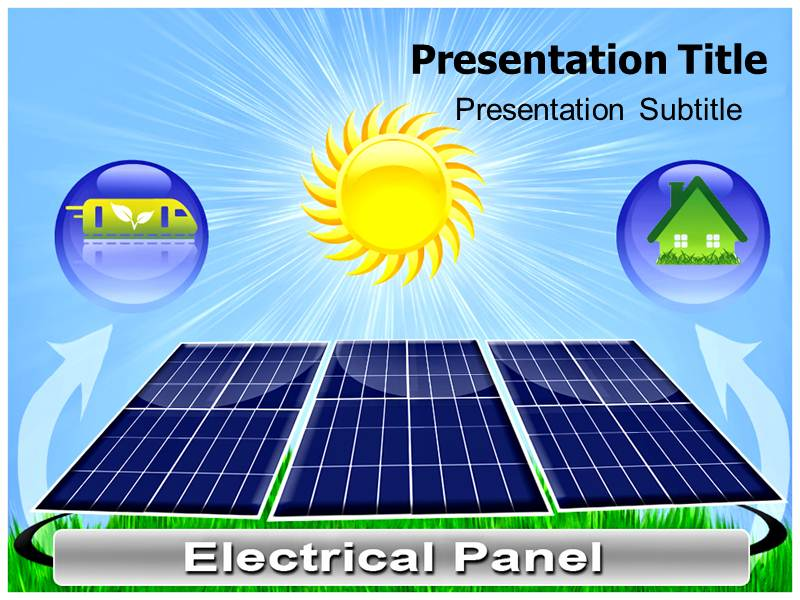 Solar Energy Store Templates For Powerpoint