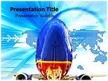 Southwest Airlines Templates For Powerpoint, Airlines PowerPoint Background Templates