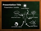 Renewable Energies Templates For Powerpoint