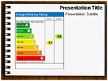 Energy Efficiency Flow Diagram Templates For Powerpoint