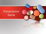 Medicinal Pills Templates For Powerpoint