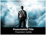 Strom Lightning  PowerPoint Template