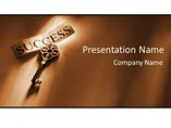 Key To Success PowerPoint Slides
