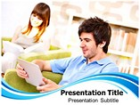 Digital Library Templates For Powerpoint